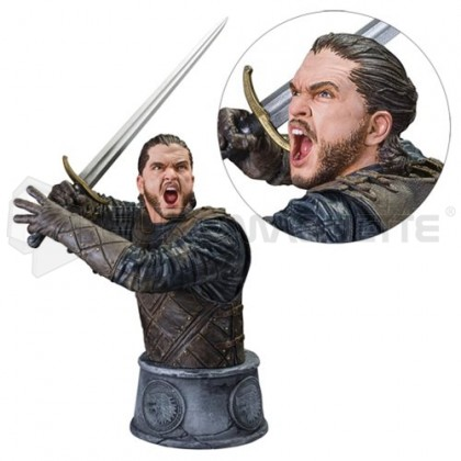 Dark horse - GoT Jon Snow bust (1250 ex)