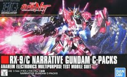 Bandai - HG RX-9/C Narrative Gundam C pack (5056760)