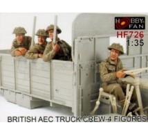 Hobby fan - British AEC Crew (x4figures)