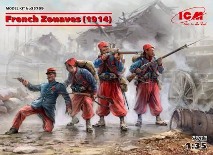 ICM - French Zouaves 1914