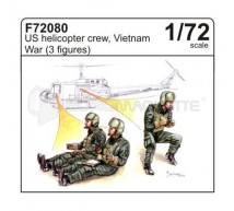 Cmk - Pilotes hélico Vietnam (x3)