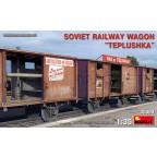 Miniart - Wagon Russe WWII Teplushka