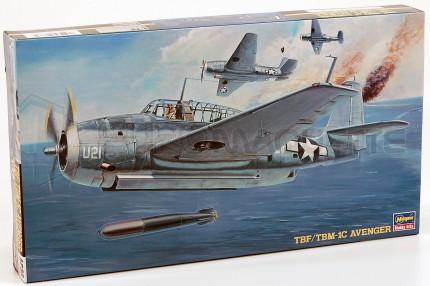 Hasegawa - TBF1-C Avenger