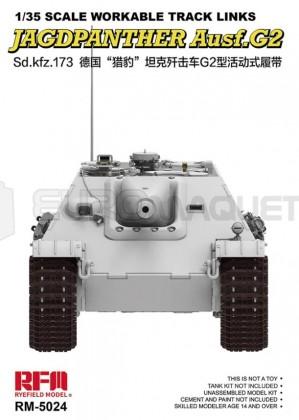 Ryefield model - Jagdpanther track links (RFM)