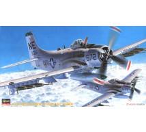 Hasegawa - A-1H Skyraider & Special bombs
