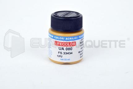Life Color - Jaune mimetique FS33434 UA080 (pot 22ml)
