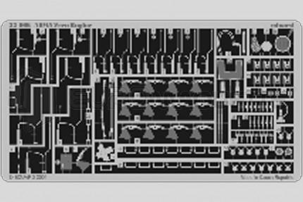 Eduard - A6M5c Zero moteur   (tamiya)