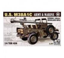 Afv Club - M38 A1C & 106mm