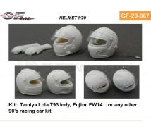 Gf models - 2 casques 1992/93 1/20