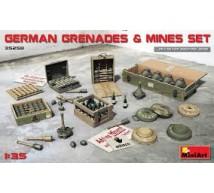 Miniart - Grenades & mines set