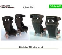 Gf Models - Sièges DS 3 WRC (Heller)