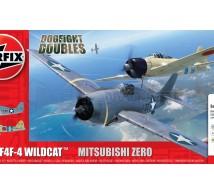 Airfix - Coffret F4F-4 & Zero