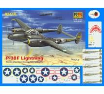Rs models - P-38F