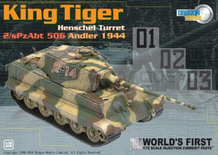Dragon - King Tiger Henschel