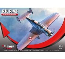 Mirage - PZL P 42 Bidérive