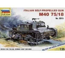 Zvezda - semovente M40 75/18