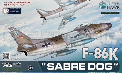 Kitty hawk - F-86 K Sabre Dog & French decals