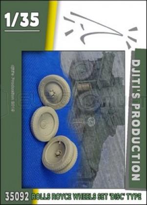 Djiti production - Rolls Royce WWI Wheels disc set