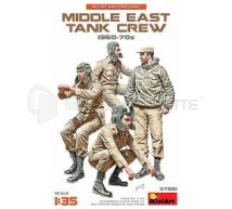 Miniart - Middle east tank crew 1960/70