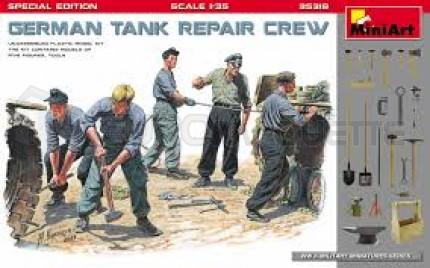 Miniart - German tank repair crew WWII