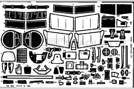 Eduard - Avia S-199 (academy/hobby.)