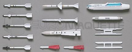 Hasegawa - Missiles air-air US