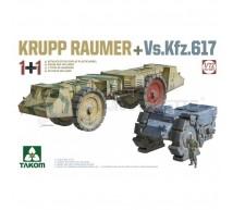 Takom - Combo Krupp Raumer/Vs Kfz 617