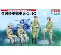 Fine molds - Tankistes Japonais WWII (Set 2)