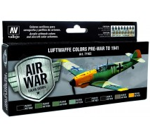 Vallejo - Coffret Luftwaffe pré-war/1941