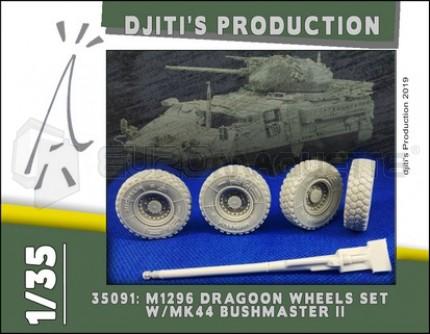 Djiti production - M196 Wheels set & Gun
