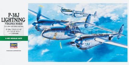 Hasegawa - P-38J Lightning