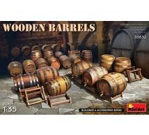Miniart - Wooden barrels