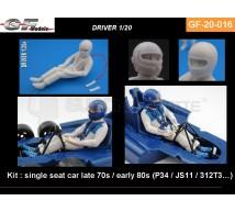 Gf Models - Pilote F1 assis