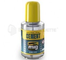 Mig products - Extra thin cement 30ml