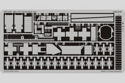 Eduard - He-111 int.  (revell/monogram)
