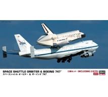 Hasegawa - Boeing 747 & Navette 1/200