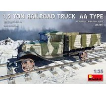 Miniart - Russian Railroad truck 1.5t AA