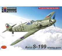 Kp - Avia S-199 & Wing guns
