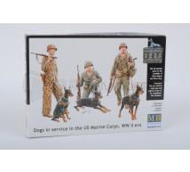 Master Box - US Marines & dogs