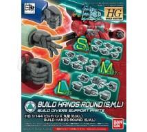 Bandai - HG Build hands round SML (0230833)