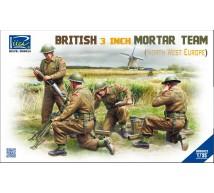 Riich models - British 3inch Mortar Team
