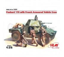 Icm - Panhard 178 & crew