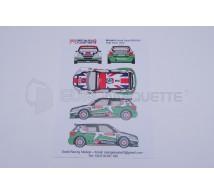 Racing decals 43 - Skoda Fabia S2000 N°2 Ypres 2012