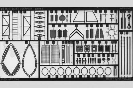 Eduard - H-21 exterieur  (italeri/revell)