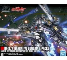 Bandai - HG RX-9/A Narrative A Packs (5055365)