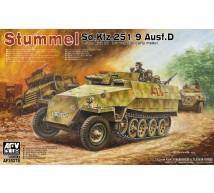 Afv club - SdKfz 251/9 Ausf D Stummel