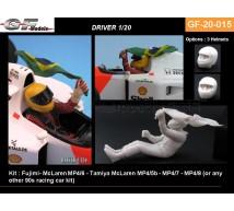 Gf Models - Pilote F1 & Drapeau