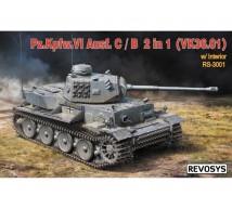 Revosys - PzVI Ausf C/B (VK-36.01) & interior