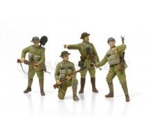 Tamiya - Infanterie Britanique avec armes et équipements
