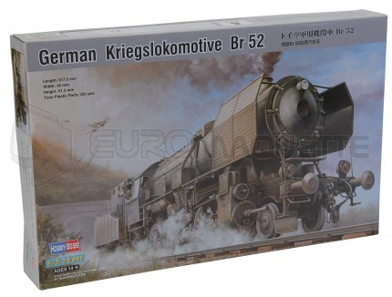 Hobby Boss - Br-52 Locomotive